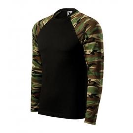 Koszulka 166 LS Camouflage długi rękaw