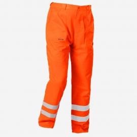 Spodnie robocze do pasa pomar/odblas. FLASH