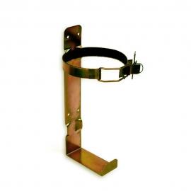 Wieszak gaśnicy GP2 z obejmą metal 110mm
