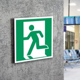 Znak LEVI E01 Wyjście ewakuacyjne (lewo) E001 PF