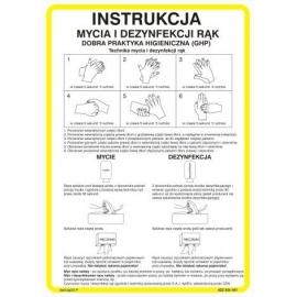 Instrukcja mycia i dezynfekcji rąk