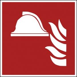 Znak F004 Zestaw sprzętu ochrony ppoż. plik elektroniczny