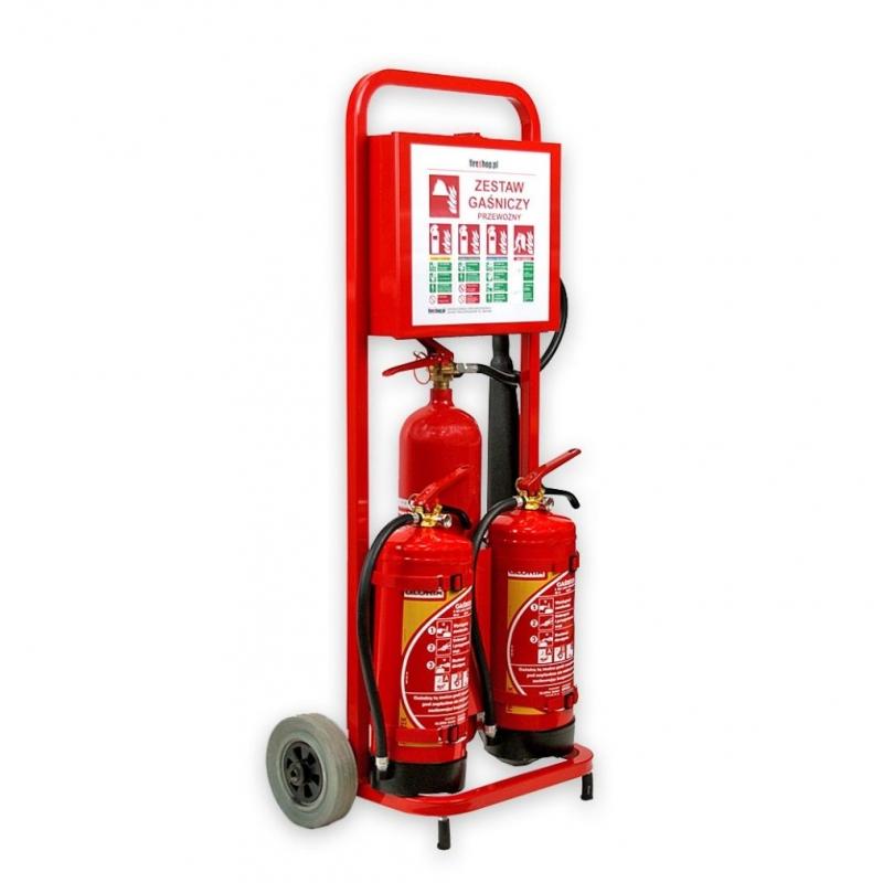 Mobilny zestaw gaśniczy Trolley2 MZG-GW9x3