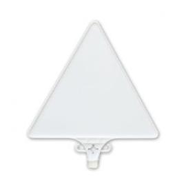 Tabliczka do słupka i pachołka pcv- trójkątna 42cm