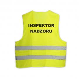 Kamizelka LYNX Hi-Vis żółta INSPEKTOR NADZORU