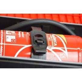 Szafka na gaśnice z tworzywa STRIKE 6 R/B
