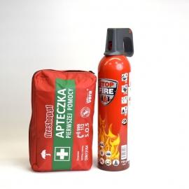 Spray gaśniczy REINOLDMAX 750ml + Apteczka DIN