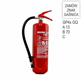 Gaśnica proszkowa GP-4x ABC /GQ