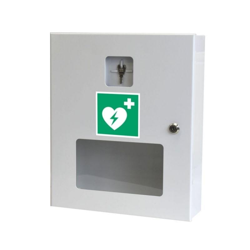 Szafka na defibrylator AED SI-1F-360 Z/O BIAŁA