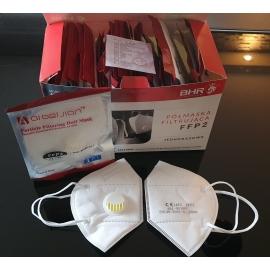 Półmaska filtrująca FFP2 z zaworem
