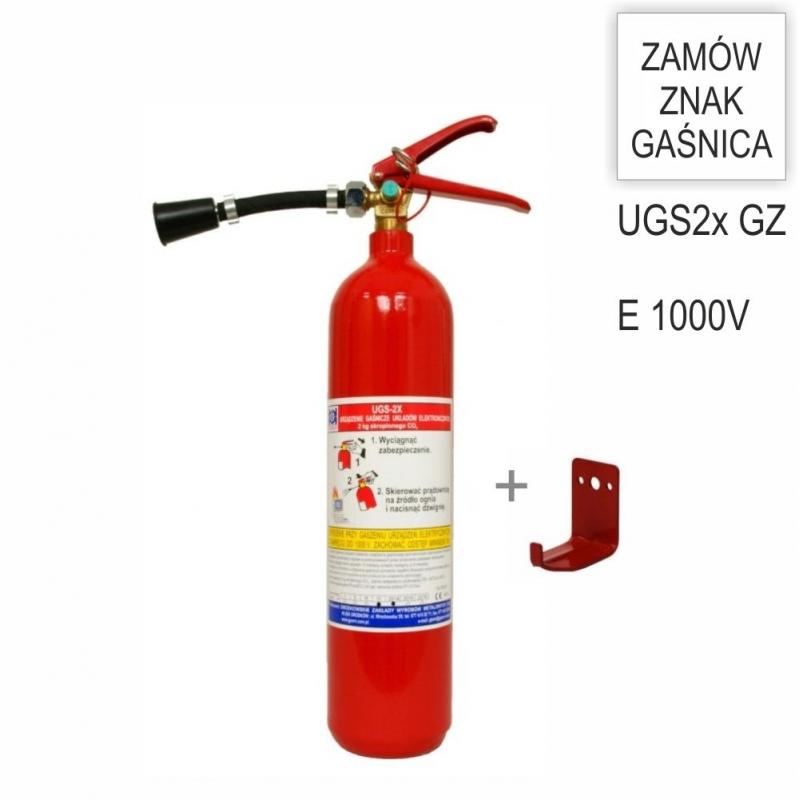 Urządzenie gaśnicze UGS- 2x G+ wieszak hakowy