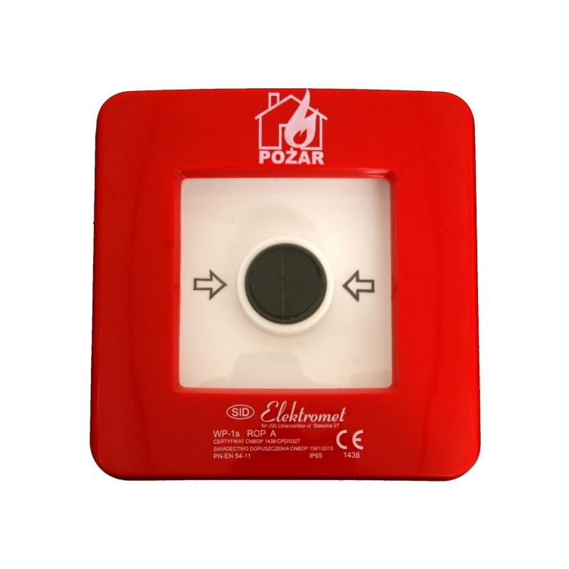 Wyłącznik alarmowy (POŻAR) (bez młoteczka)